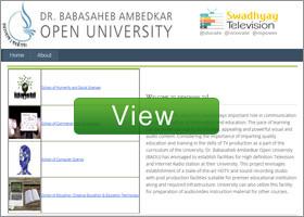 ambedkar open university baou essay University name dr babasaheb ambedkar open university type of university state university university contact number 02717 297 170 official website wwwbaoueduin ug.